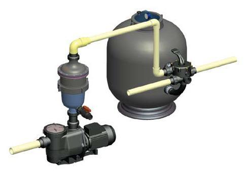MULTI CYCLONE - Zentrifugale Wasserfiltration