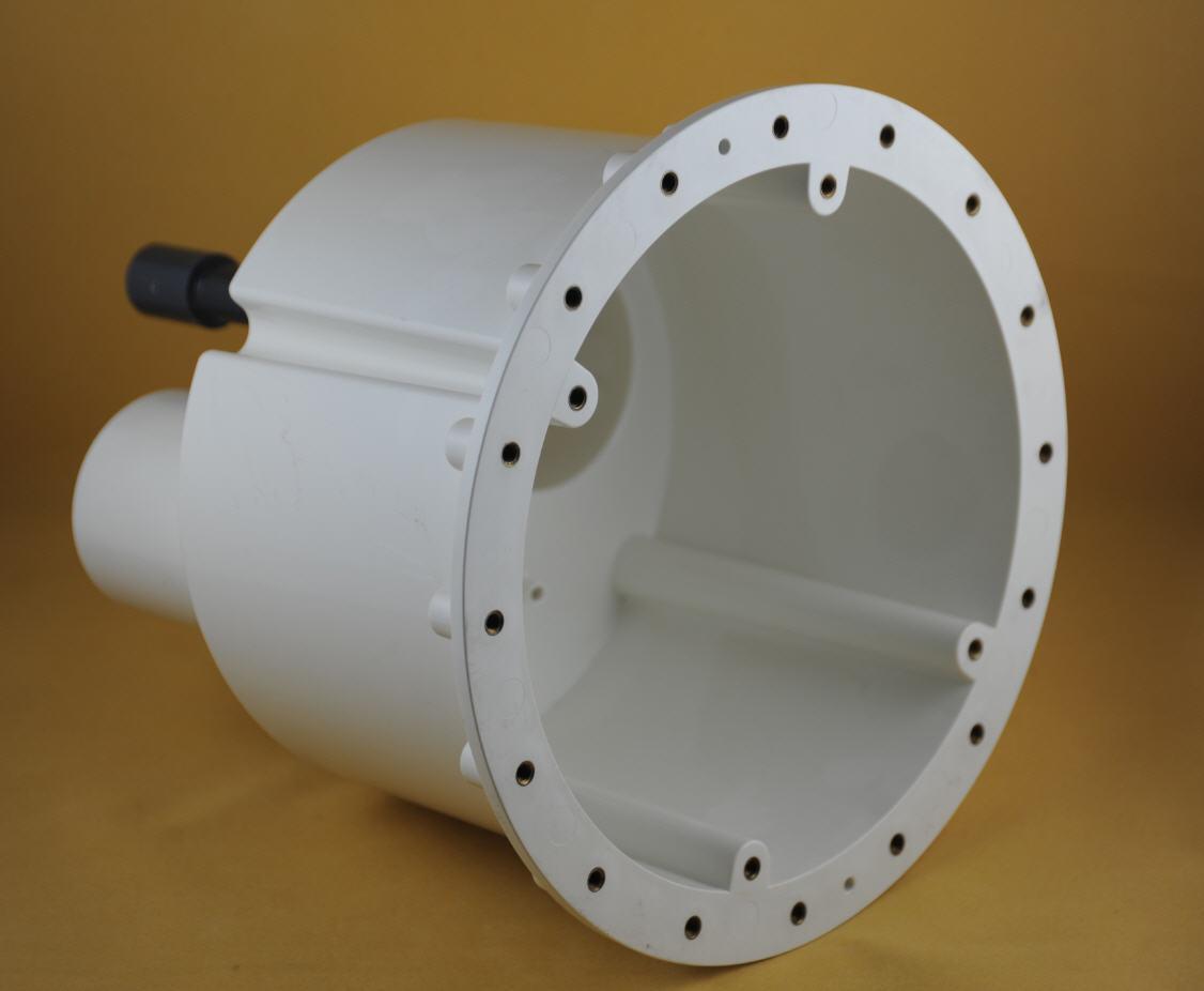 Gegenstromanlage BOMBA - Einbausatz