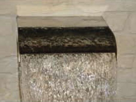 Schwalldusche Cascade Wand 500x400x60