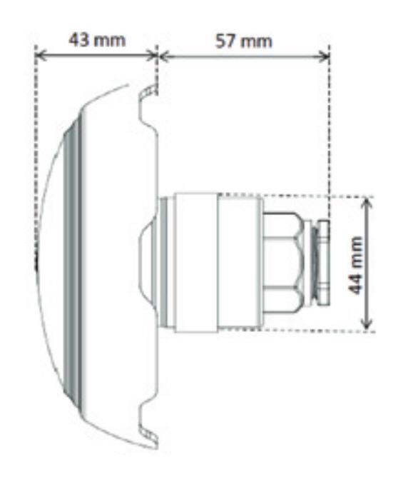 LED Scheinwerfer MINI PROJECTOR - RGB inkl. Einbauset