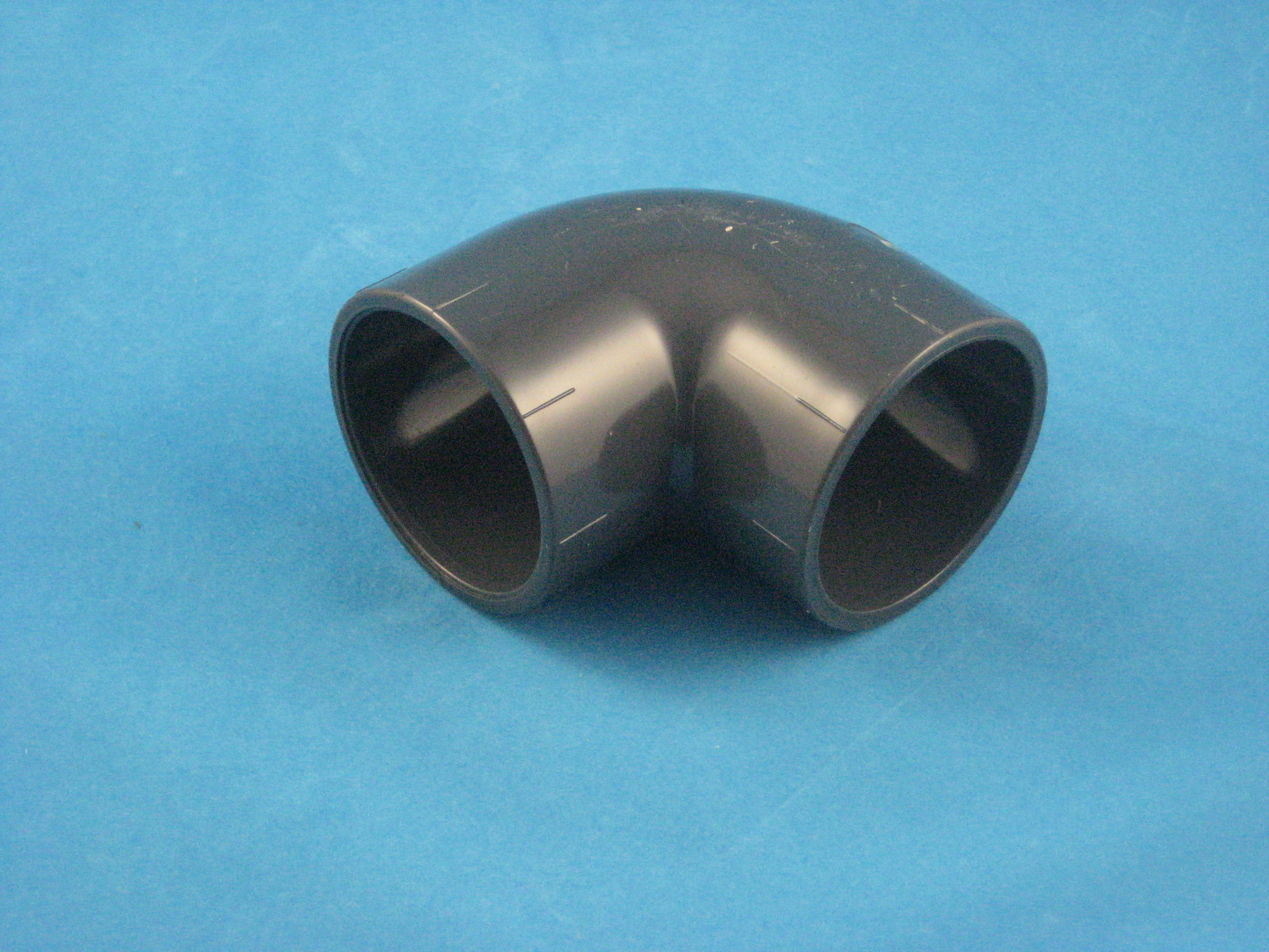 PVC Winkel 90° D63