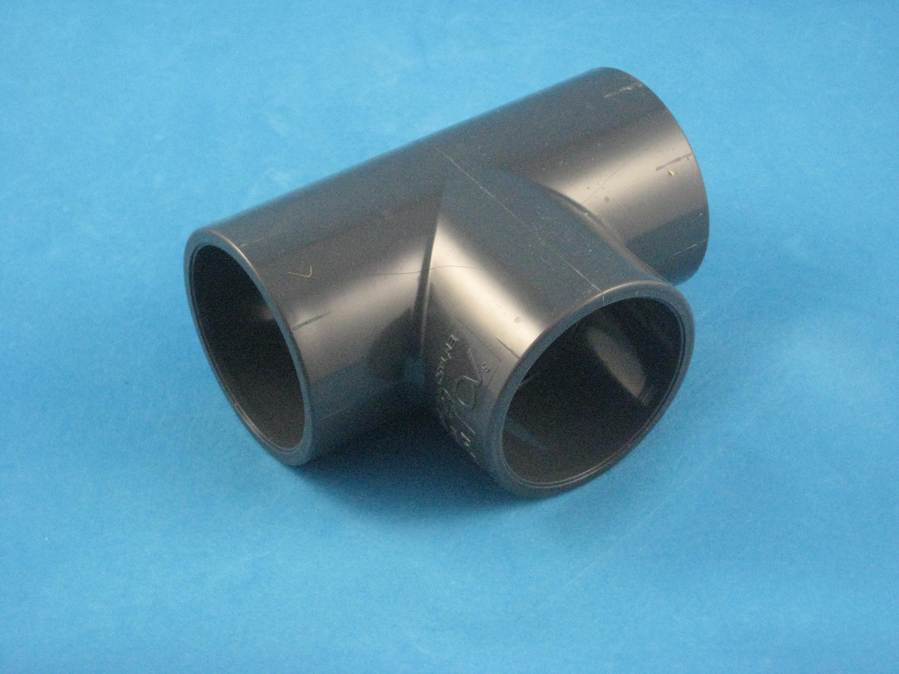 PVC T-Stück 90° D63