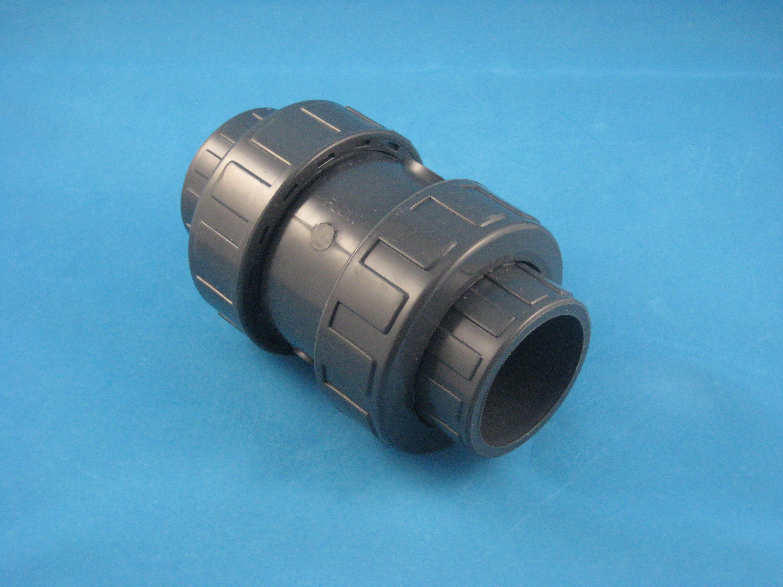 PVC Rückschlagventil D63