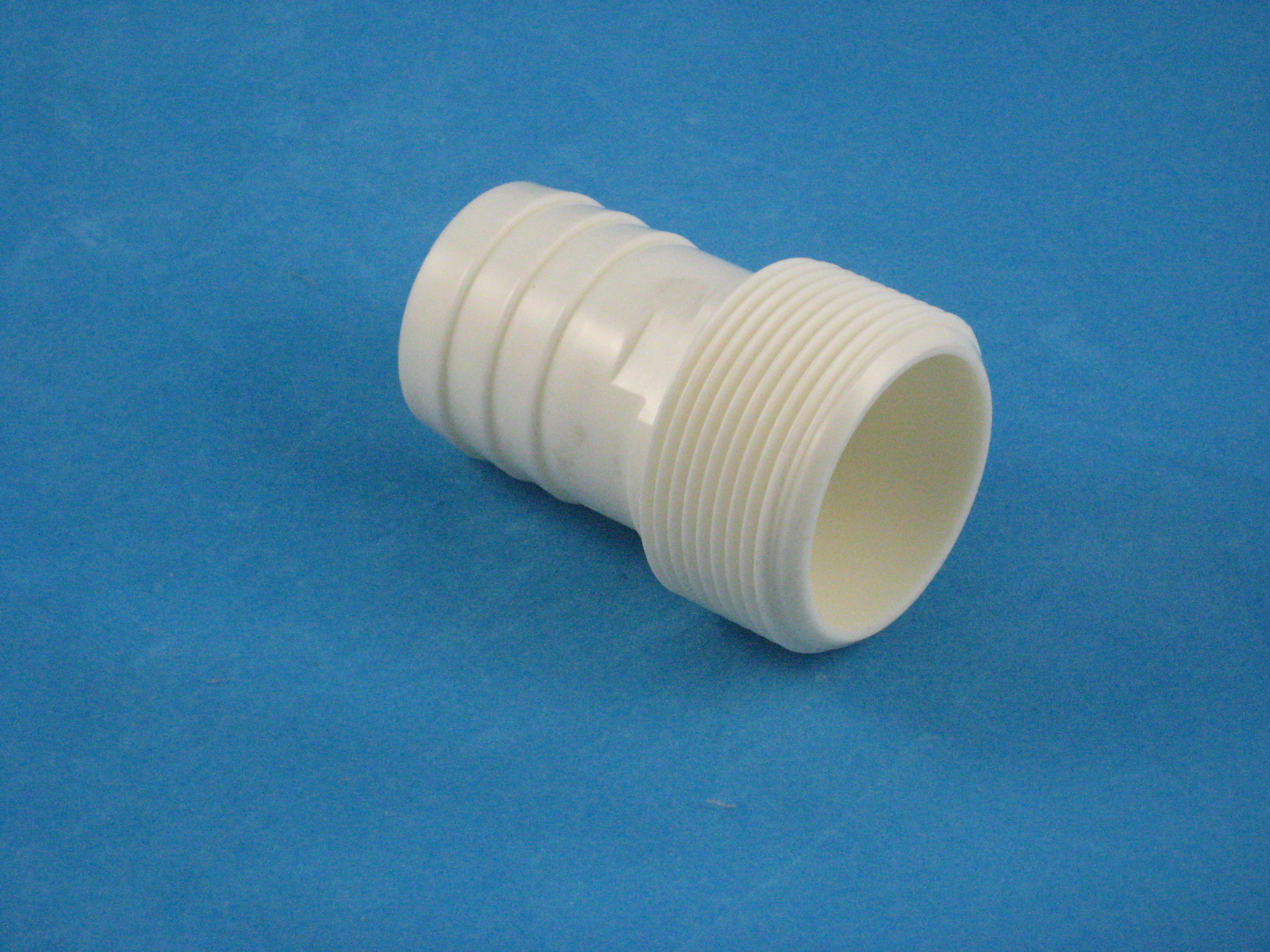 PVC Schlauchübergang 1 1/2'' AG - 38 mm