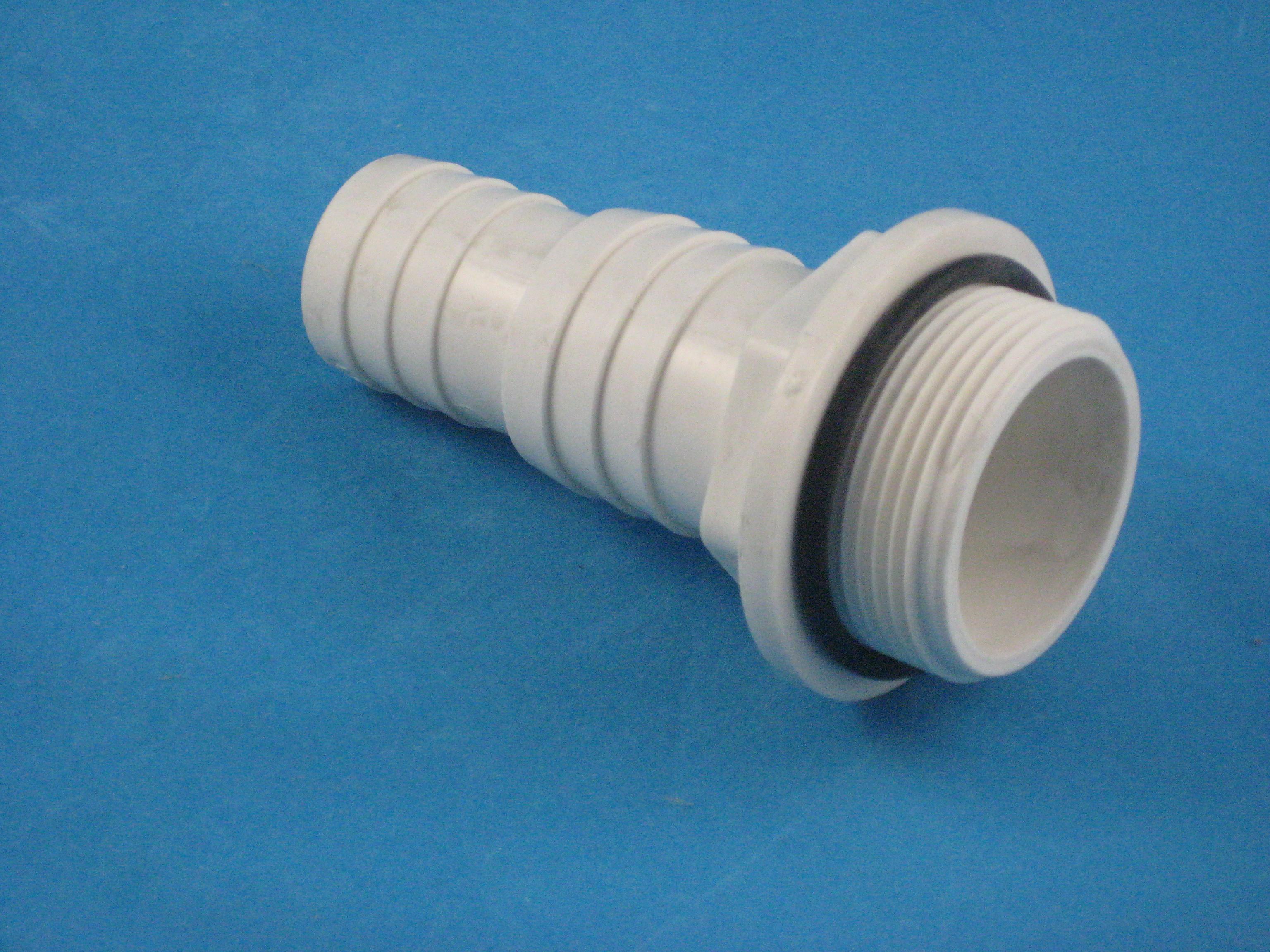 PVC Schlauchübergang 1 1/2'' AG - 32/38 mm