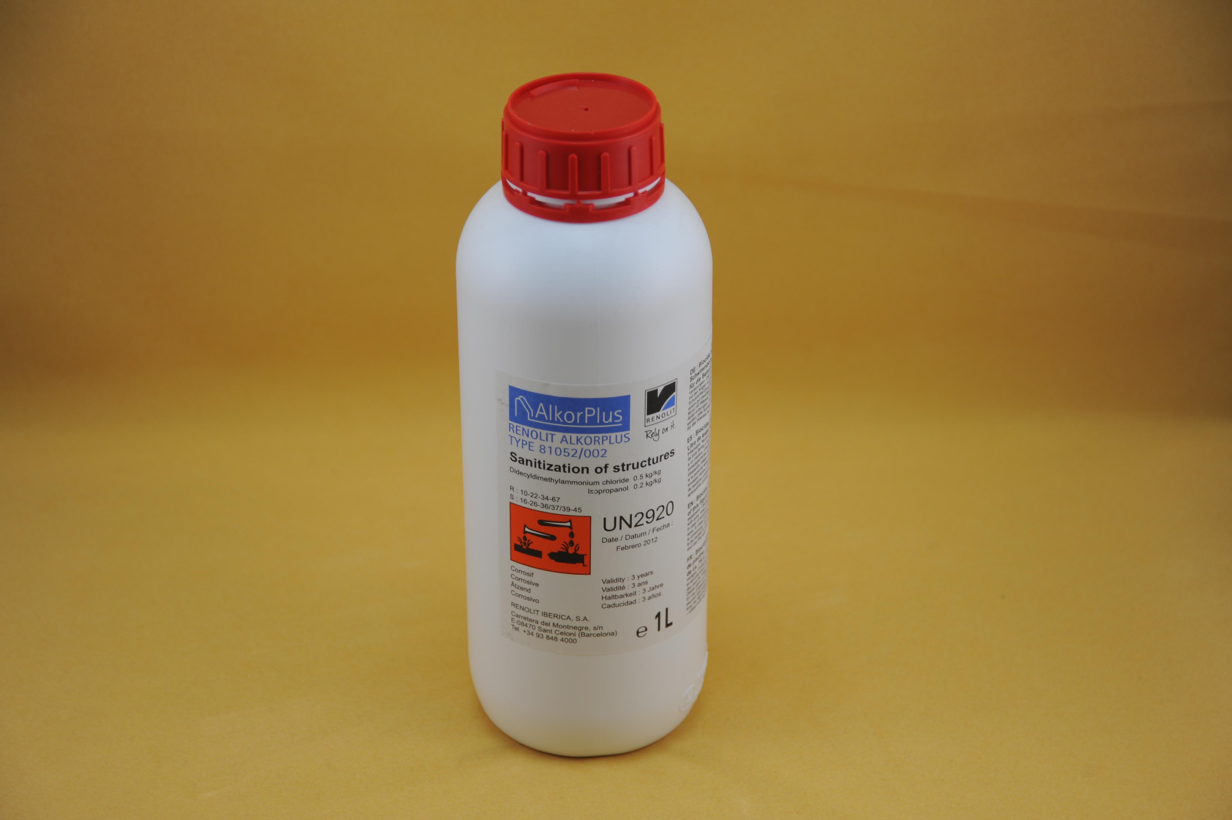 Desinfektionsmittel für Untergrund/Vlies 1l