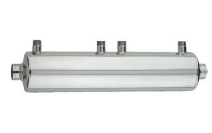 Heizungswärmetauscher HWT 122/140 kW V4A