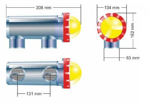 SALT MANAGER Maxi - 30g/h - bis 130m³