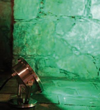 Edelstahl Projektor 316L RGB