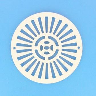 Ablaufgitterdeckel rund zu KS Bodenablauf - (Art. Nr.23100900)