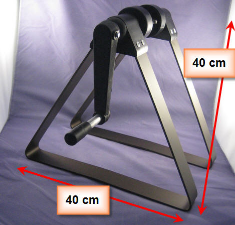 Alu-Dreieckskonsolen für Luftpolsterfolien