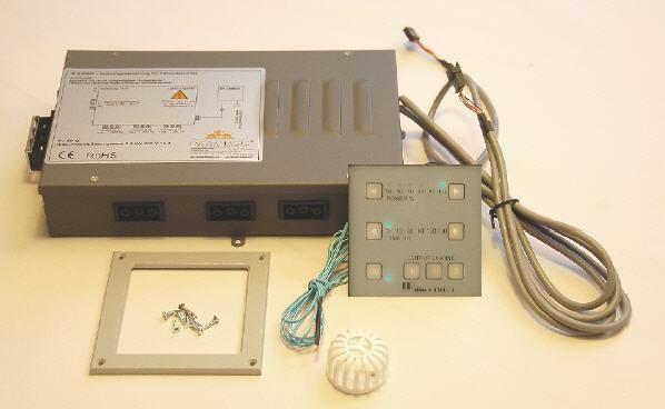 Infrarotsteuerung DIMMER 1300-3 - Leistungs- & Zeitregelung