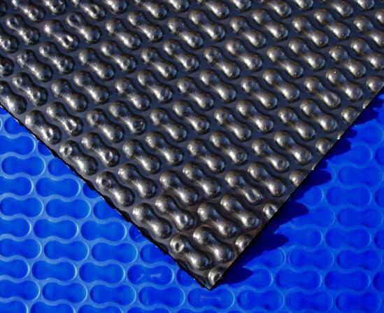 Thermofolie GeoBubble blau/schwarz 400my - 700 x 350 cm
