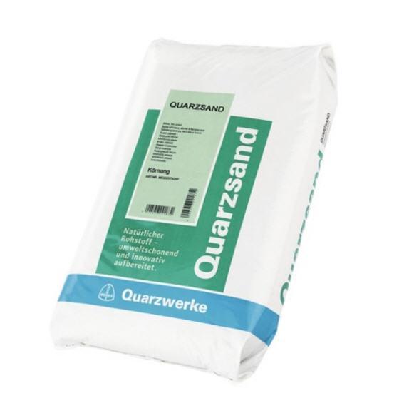 Filtersand 25 kg - 2,0-3,4 mm