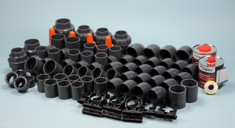 Fittingspaket MAXI passend bei Lisboa 750 Filteranlage