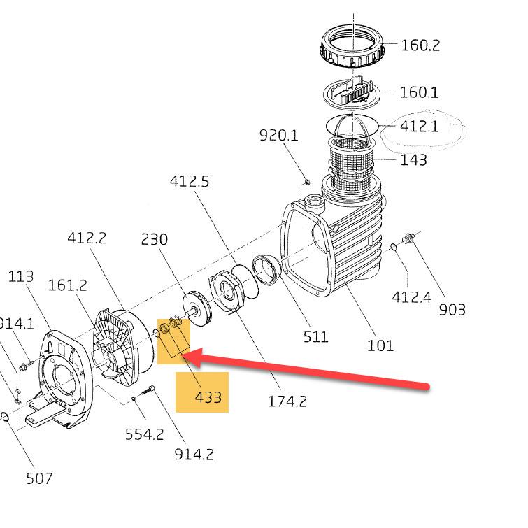 Gleitringdichtung 14mm Pumpe-Bettar