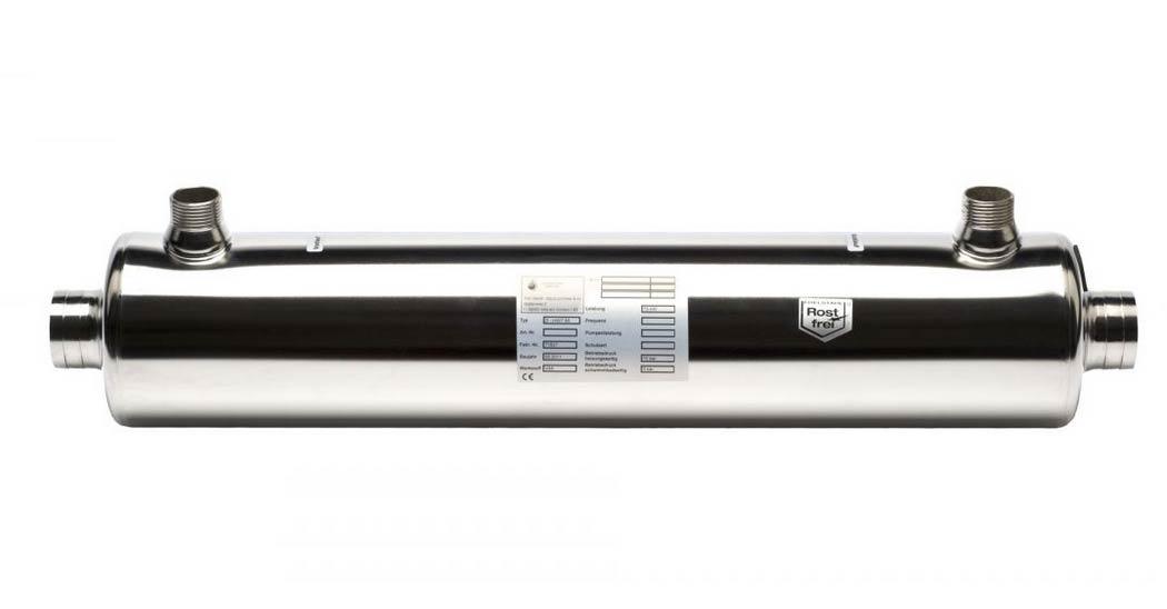 Heizungswärmetauscher HWT 65/75 kW V4A