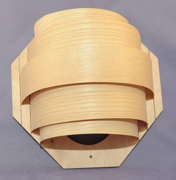 Holzblendschirm aus Sperrholz