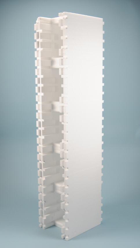 ISO MASSIV STEIN PS40 +-10% - gerade (125x25x30 cm)