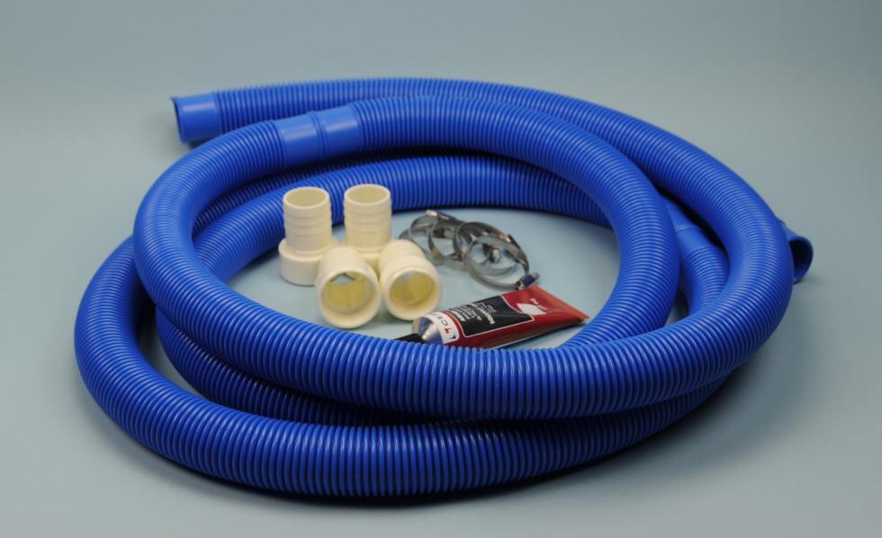 Installations-Paket - flexible Schlauchverbindung 38mm
