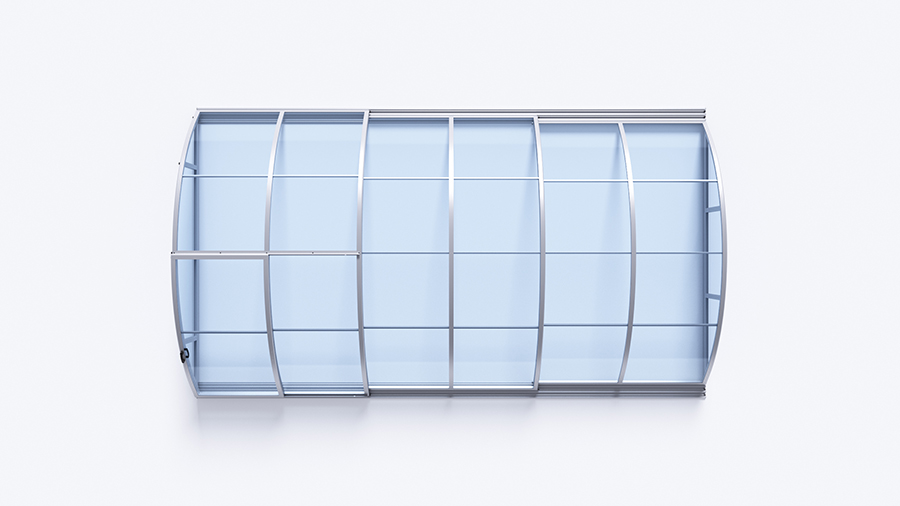 KLASIK A CLEAR - 646 x 370 x 100 cm