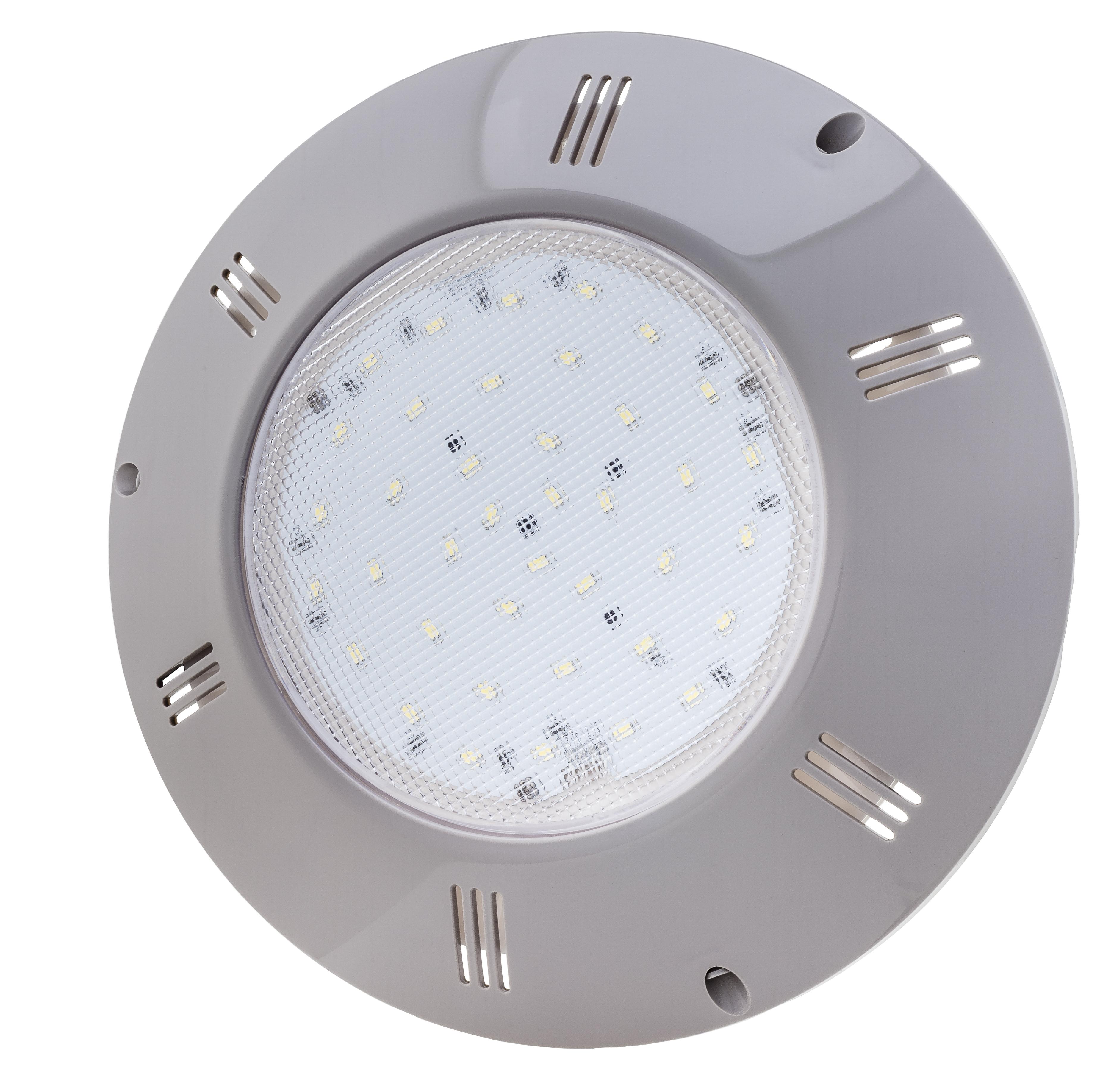 LED Scheinwerfer FLACH - GRAU