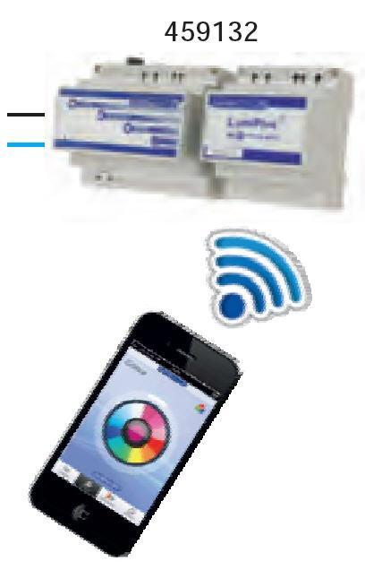Lumiplus Wifi Adapter - mit Empfängermodul und Wifi-Adapter