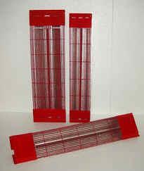 Magnesiumstrahler Set 2 - für Kabine 130 x 115 x 200 cm