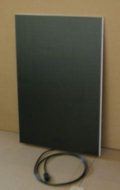 Plate 2 - 740 x 490 mm - Flächenheizung SCHWARZ