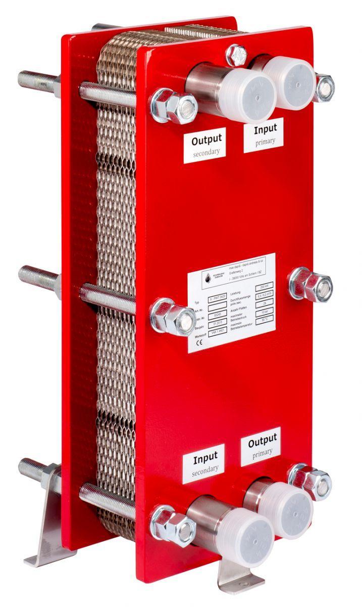 Plattenwärmetauscher G-PWT 50/53 KW TITAN