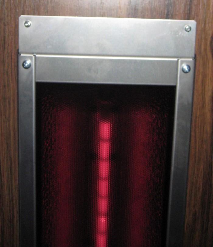 ROTLICHT Vollspektrumstrahler ThermoLight 500W - Montage Vorne