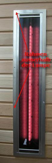 ROTLICHT+ Vollspektrumstrahler ThermoLight 500W - mit Alu Rahmen