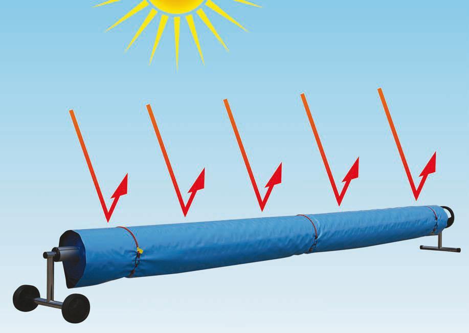 Reflektierende Schutzplane f. Thermofolie per LFM