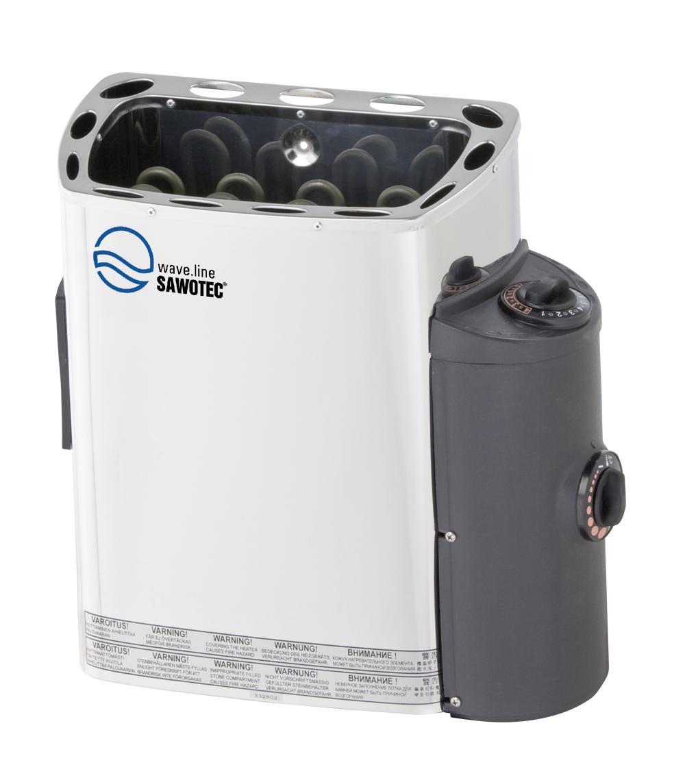 SAWOTEC Saunaofen Mini 3kW mit integrierter Steuerung
