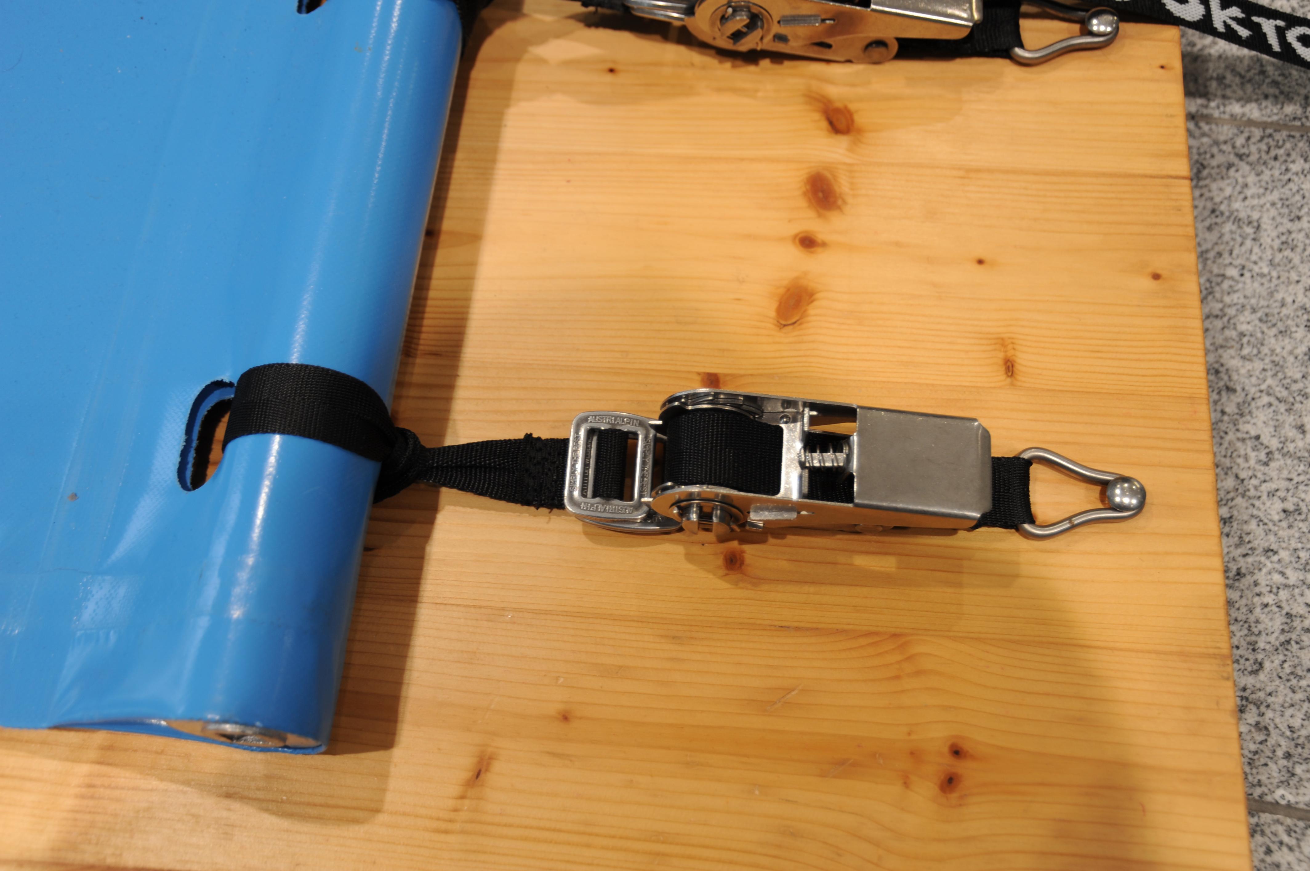 Spannsystem mit Nirosta Spannschloss - für Rollabdeckplane