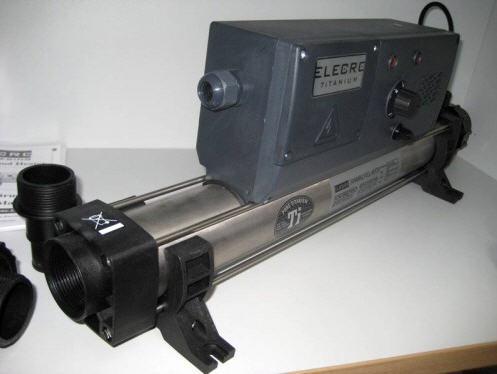 TITAN Elektrowärmetauscher Modell 9 KW, 400V
