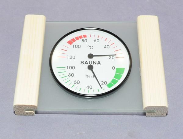 Klimamess-Station Thermo- und Hygrometer - klein