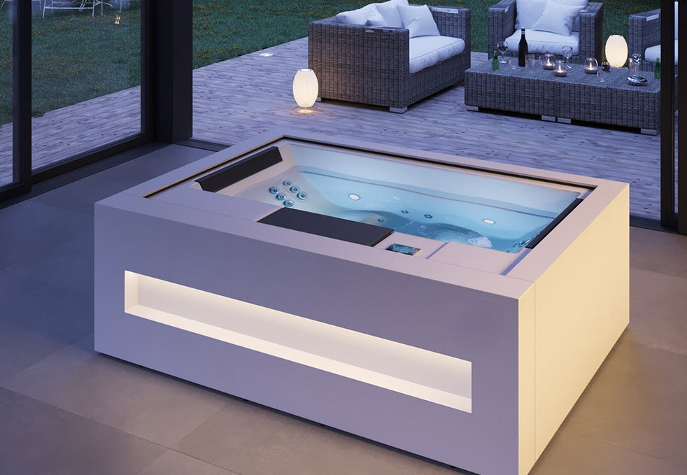 Whirlpool HOME SPA - Weiss