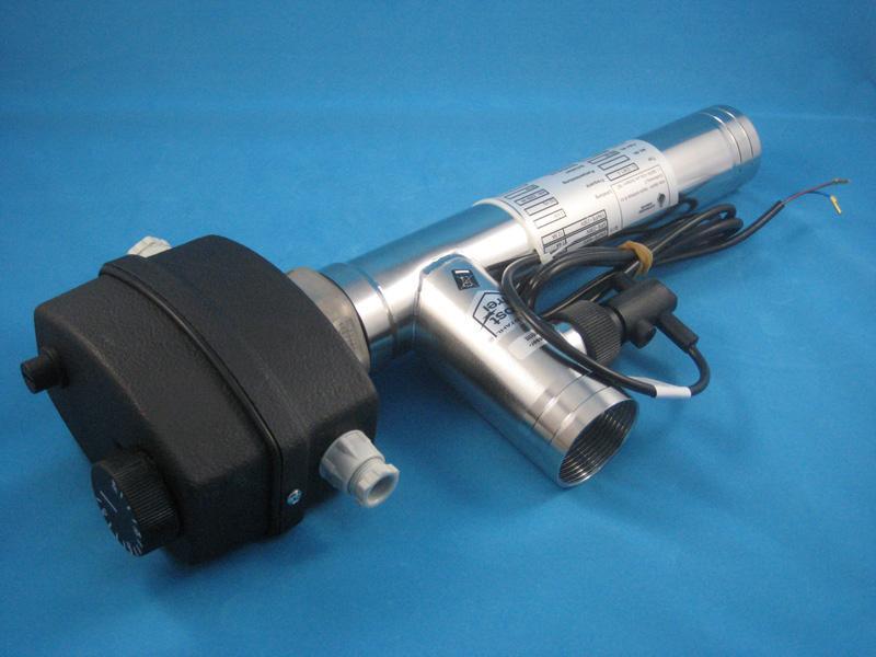 Elektrowärmetauscher 3kW 230V V4A D-EWT