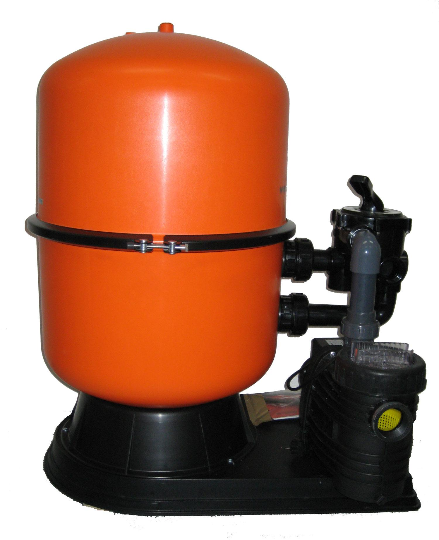 Sandfilteranlage SFP 400 - mit TORPEDO 50 - 8 m3/h