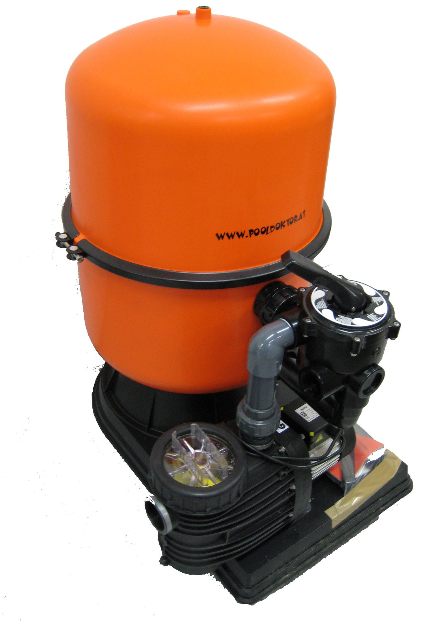Sandfilteranlage SFP 400 - mit SPECK Bettar 8 - 230V - 8 m3/h