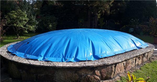 Aufblasbare Haube - Oval 11 x 5,5 m