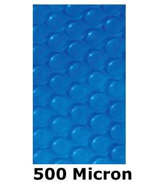 Solarnoppenfolie 500my - ECKIG - 700 x 350 cm