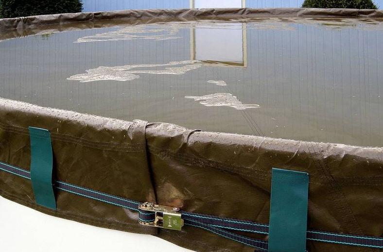 Pool Winterabdeckplane PREMIUM für Rechteckbecken 750 x 400