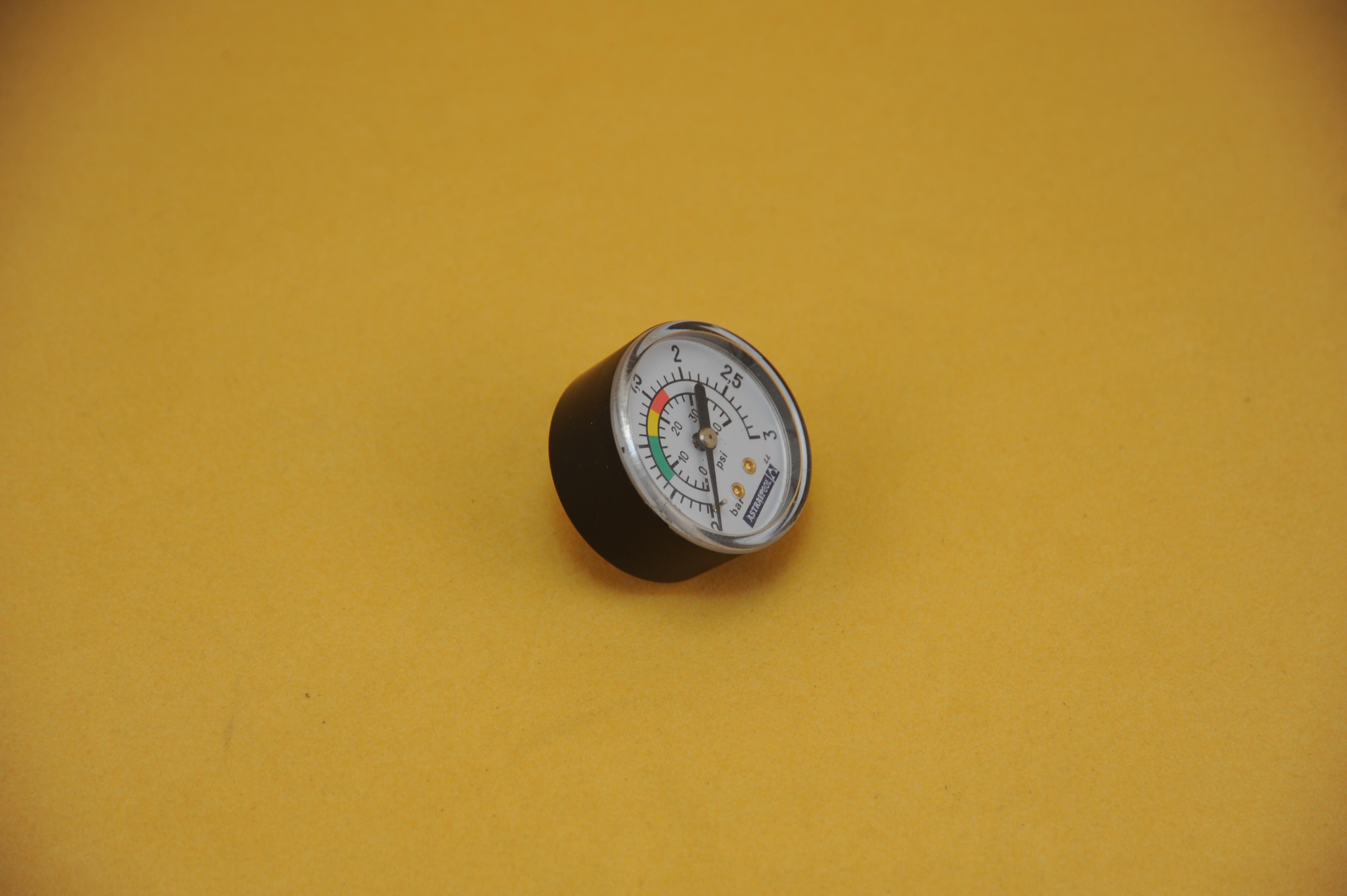 Manometer Filteranlage 1/8AG - Anschluss von unten!