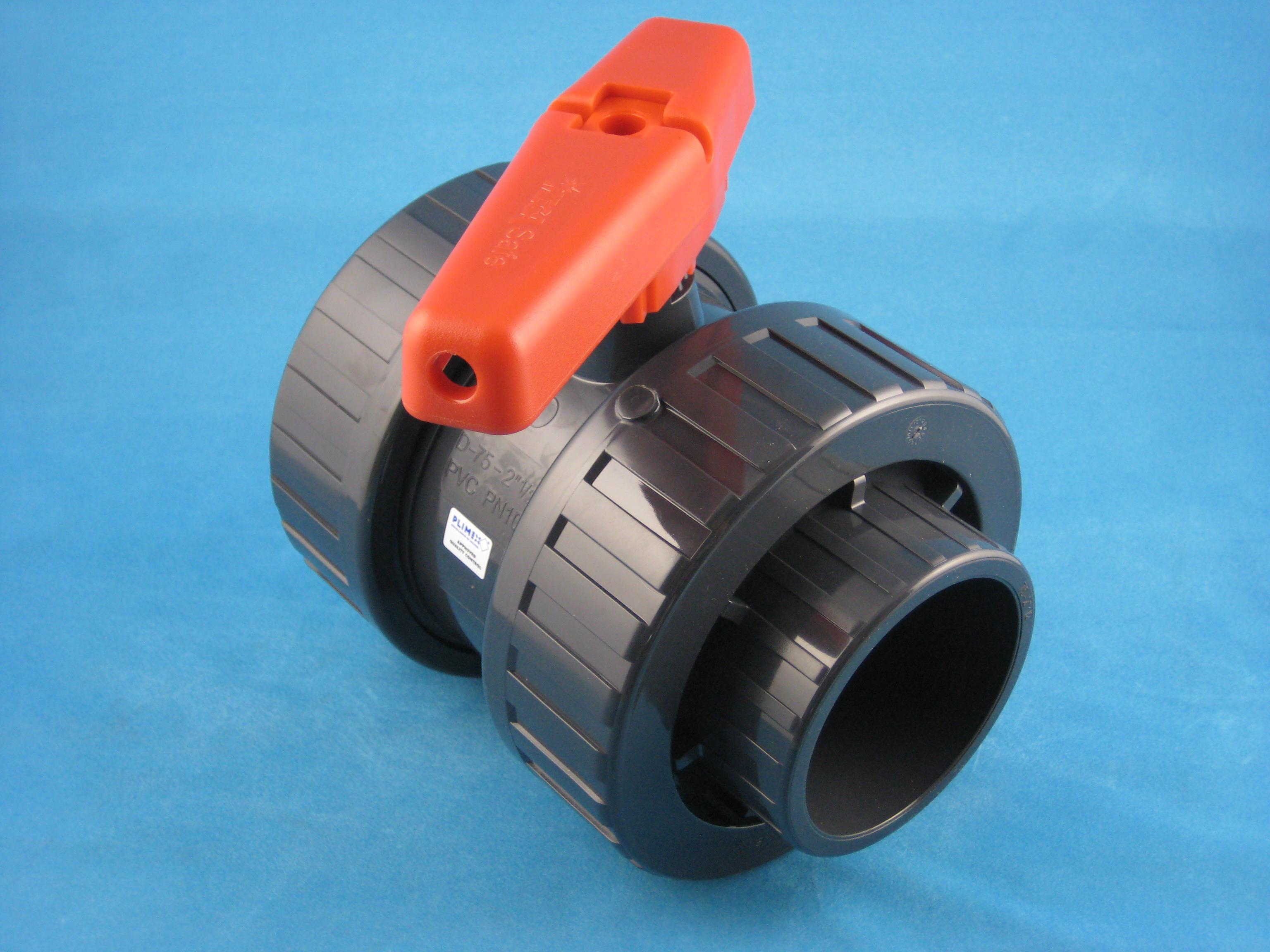 PVC Kugelhahn D75