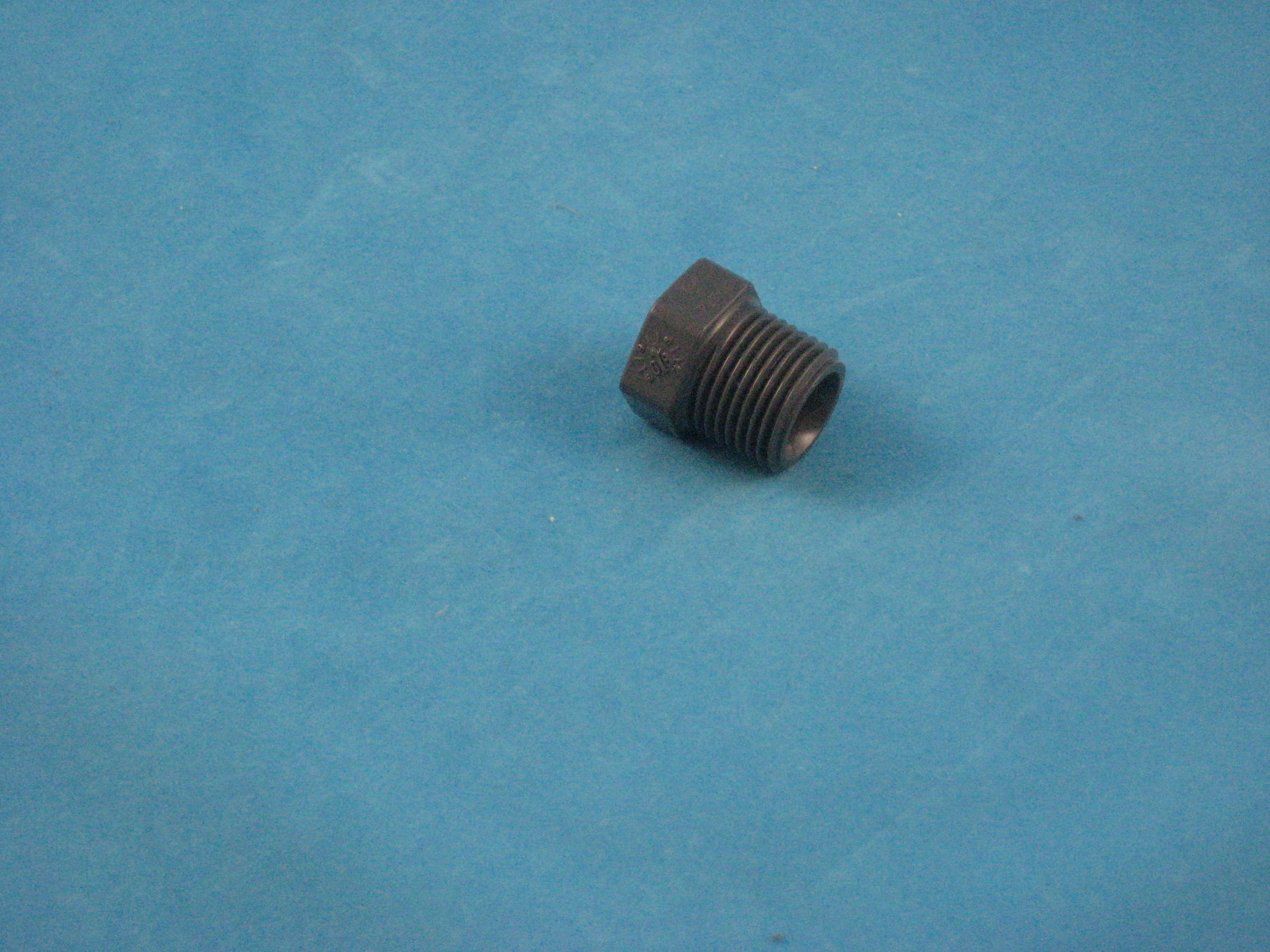 PVC Stopfen 1/2 Zoll AG