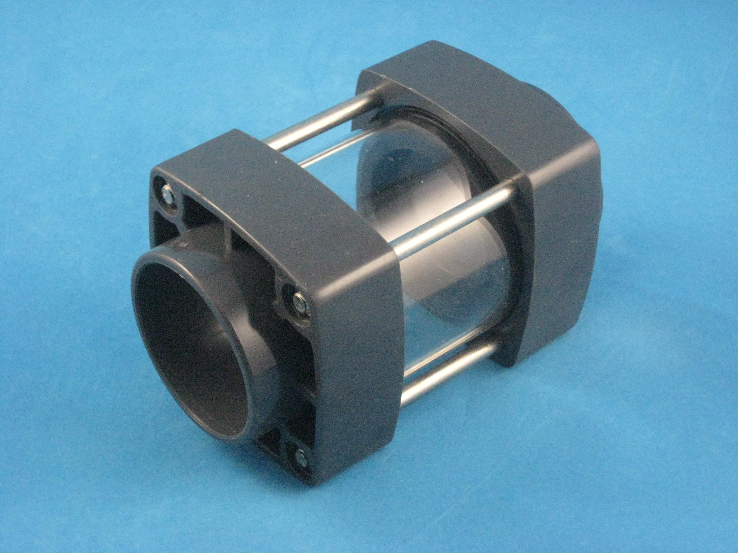 PVC Sichtglas D50