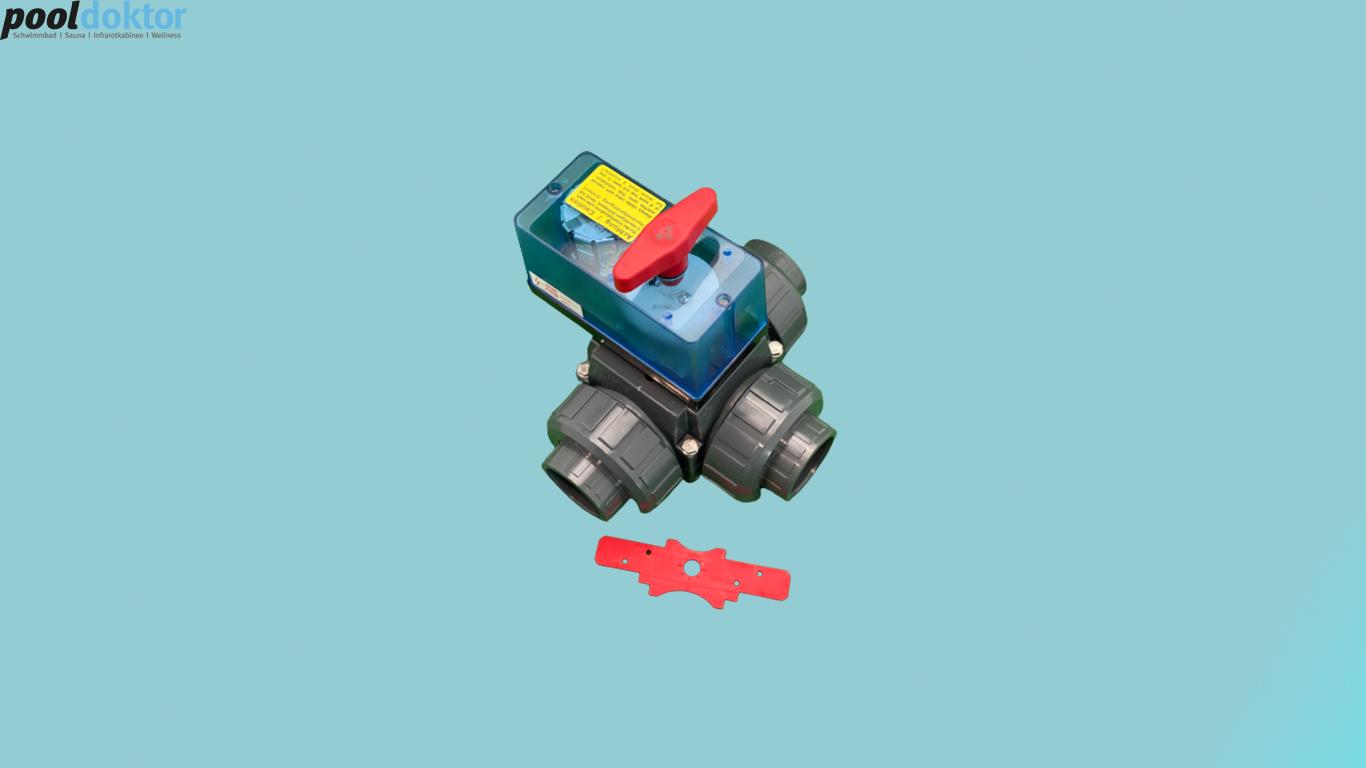 3 Wege Motorstellantrieb 230V