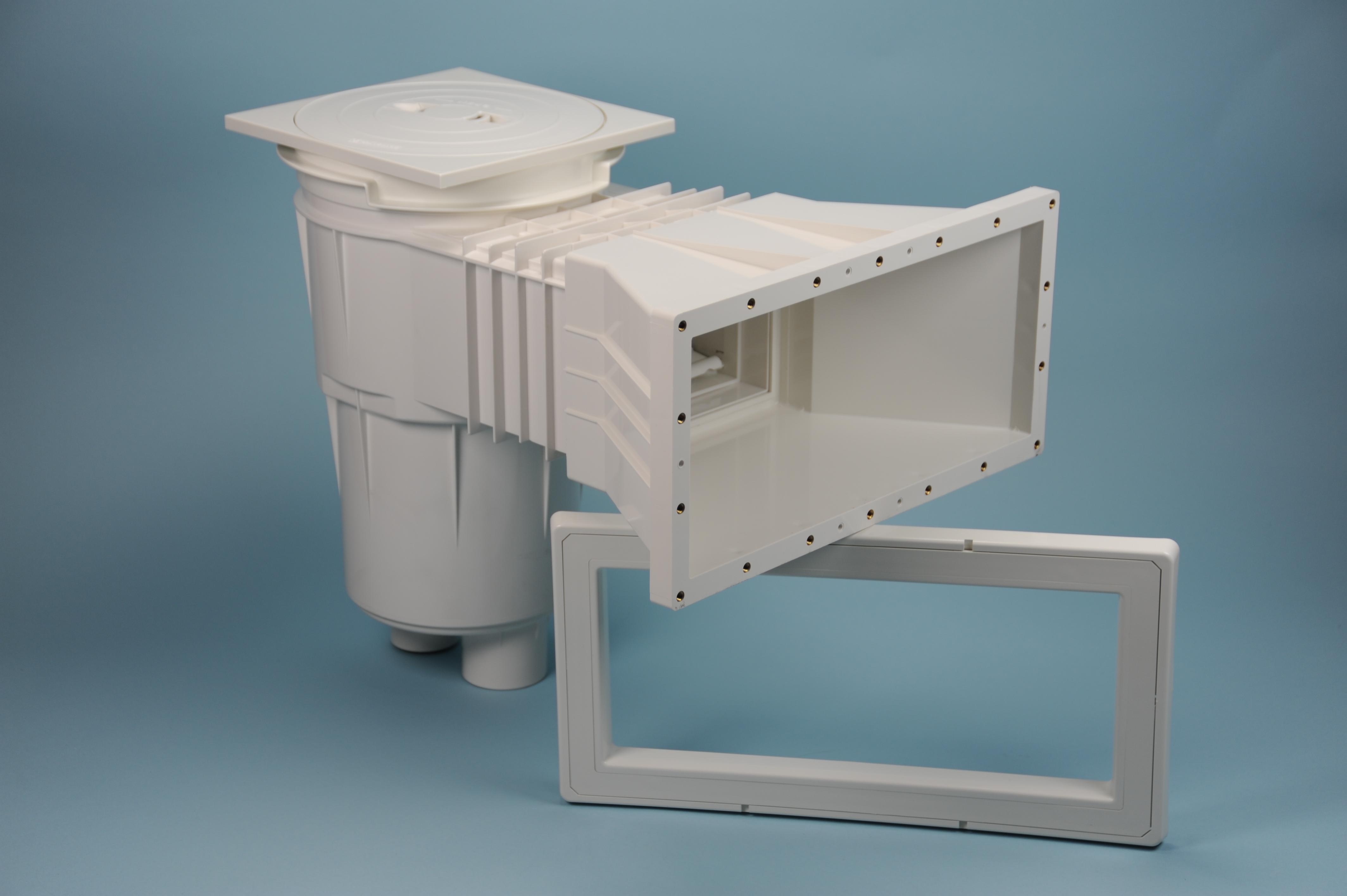ASTRAL Weithalsskimmer III - Saugöffnung 37x16 cm - Tiefe 580 mm